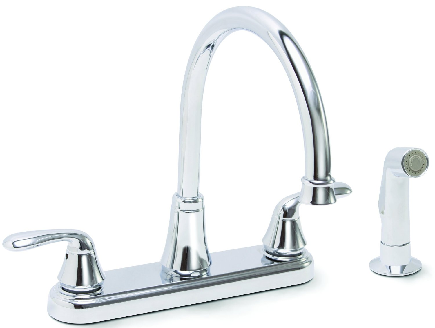 Best Kitchen Sink Faucets: Single & Two Handle, White ...