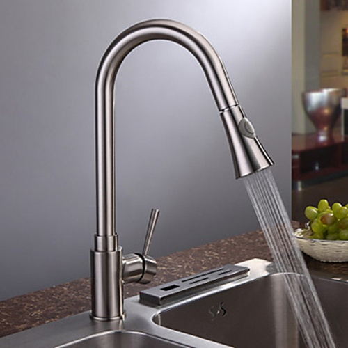 Buy Brushed Nickel Kitchen Faucet online - homerises.com