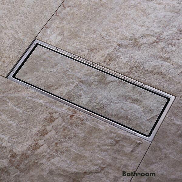Top Square & Linear Shower Drain, Shower Floor Drain - Homerises.com BM98