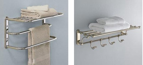 ... Bathroom Towel Shelves ...