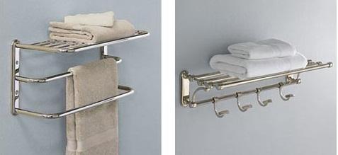 Merveilleux ... Bathroom Towel Shelves ...