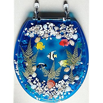Excellent Royal Blue Toilet Seat Images  Best inspiration home