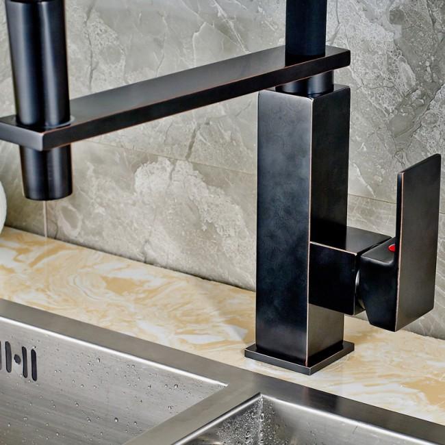 ... Oil Rubbed Bronze Kitchen Faucet ...