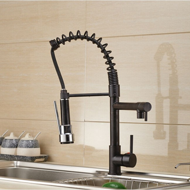 Beau ... Oil Rubbed Bronze Kitchen Faucet ...