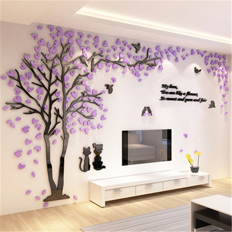 3d Wall Decals Stickers Modern Wall Art Decor Homerises