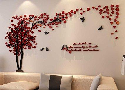 3d Wall Decals & Stickers, Modern Wall Art Decor - Homerises.com