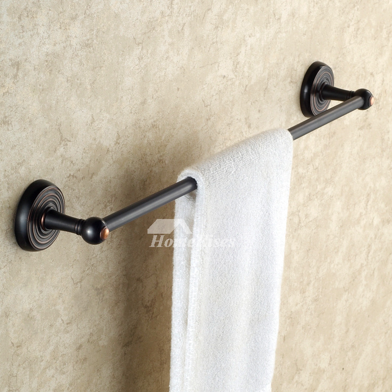 Black Oil Rubbed Bronze Antique Towel Bars