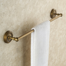 Golden antique Antique Brass Towel Bars