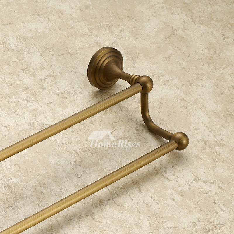 Antique Brass Vintage Golden Towel Bars