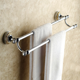 Antique Silver Silver Towel Bars