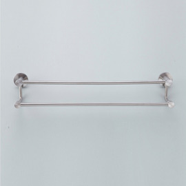 Nickel Brushed Modern Beige Towel Bars