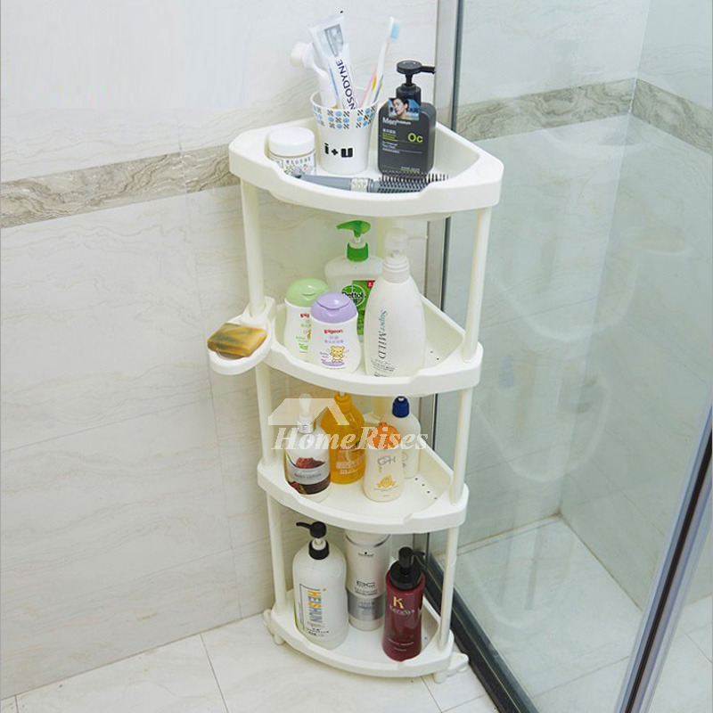 White Painting On Sale Bathroom Shelves