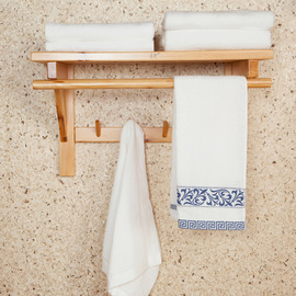 Painting Designer Cognac Bathroom Shelves