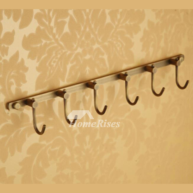 Antique Copper Brown antique Robe Hooks