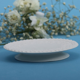 Designer White Soap Dish
