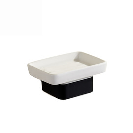 modern Painting White Soap Dish