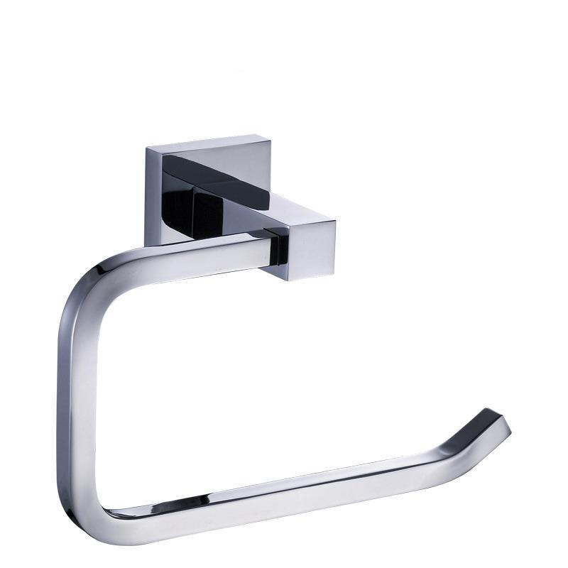 Modern Chrome Silver Toilet Paper Holder