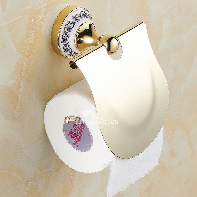 Arrondi tissue roll holder in brushed bronze Polished Brass Toilet Paper Holder Gold  Get Quotations Organize  . Gold Flake Toilet Paper. Home Design Ideas