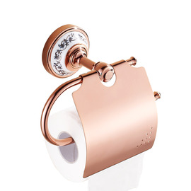 Rose Gold Golden Antique Toilet Paper Holder