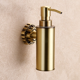 Golden Antique Bronze Antique Soap Dispensers