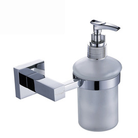 modern Silver Chrome Soap Dispensers