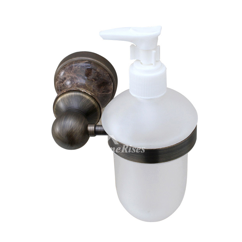 Brown Vintage Brushed Soap Dispensers