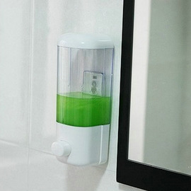 Painting Cheap White Soap Dispensers
