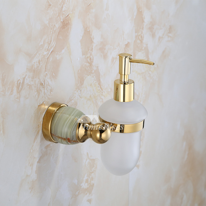 Polished Brass Golden antique Soap Dispensers