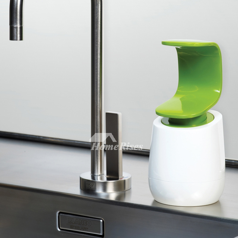 Modern Green / Black Bathroom Creative Liquid Soap Dispenser