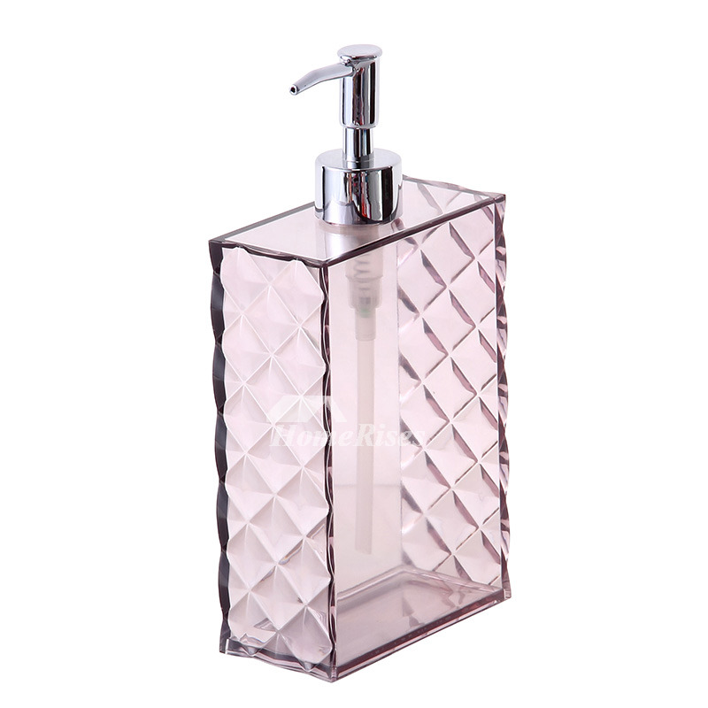 Bathroom liquid soap dispenser