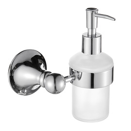Exquisite Chrome / Brass / Copper Wall Mount Liquid Soap Dispenser