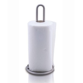 Silver modern Nickel Brushed Toilet Paper Holder