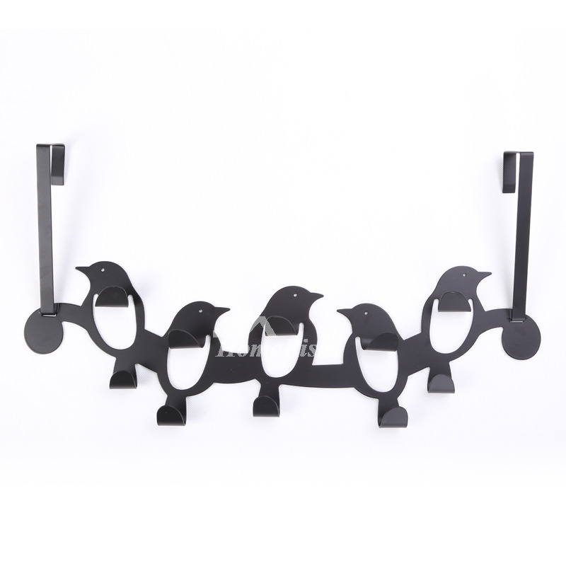 Black Painting Designer Robe Hooks