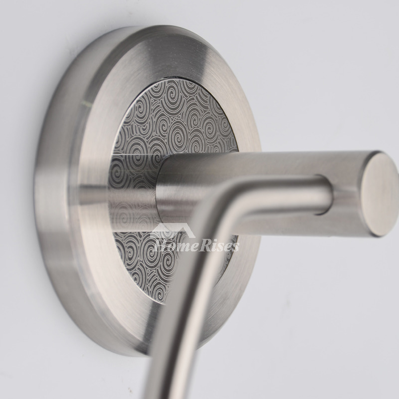 Silver Best Brushed Towel Ring