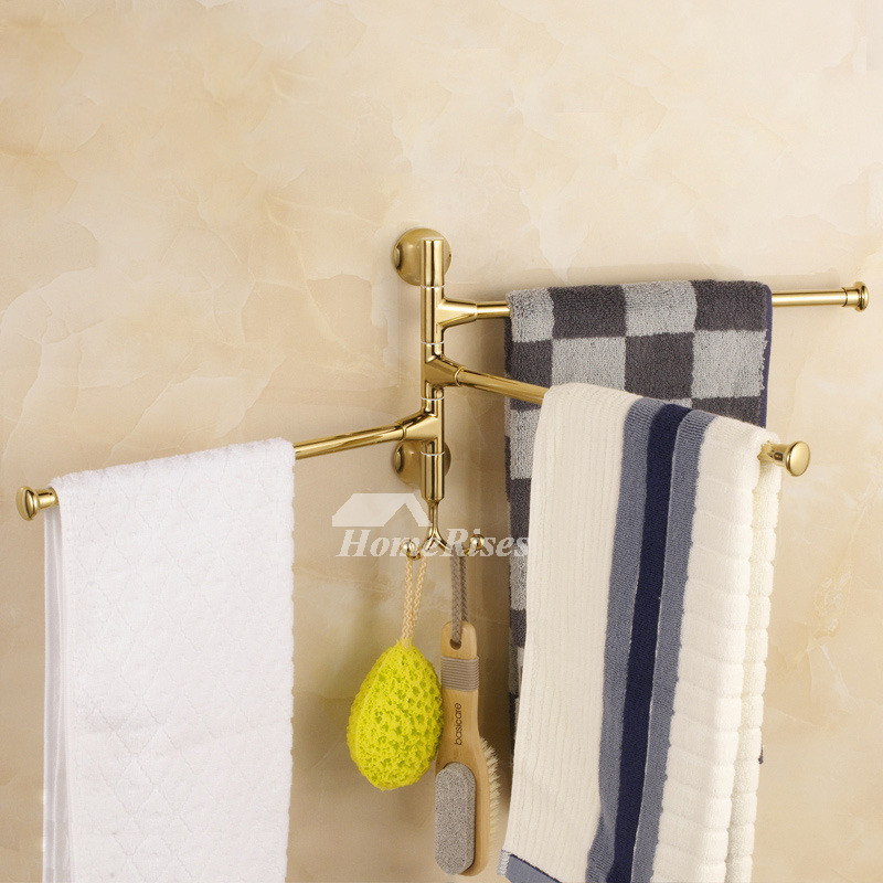 Polished Brass Bathroom Towel Bars: Polished Brass Best Golden Towel Bars