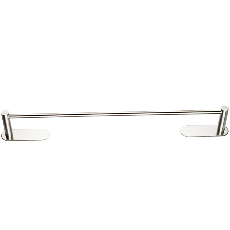 Nickel Brushed Silver Modern Towel Bars