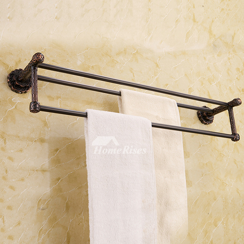Black antique Oil-rubbed Bronze Towel Bars
