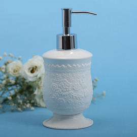 Luxury White Soap Dispensers