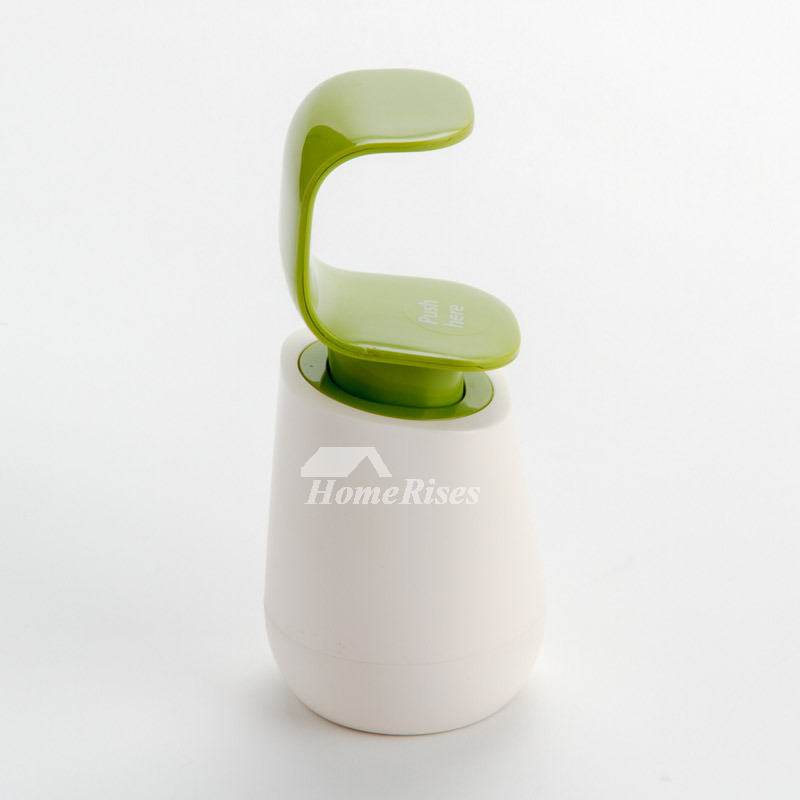 Green Painting Modern Soap Dispensers