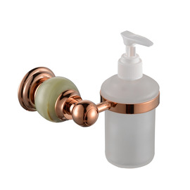 Vintage Rose Gold Pink Soap Dispensers