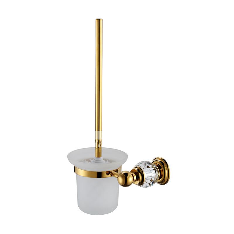 Polished Brass Golden Vintage Bathroom Accessories Sets