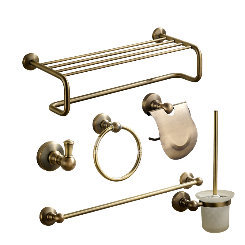 brown antique antique bronze bathroom accessories sets