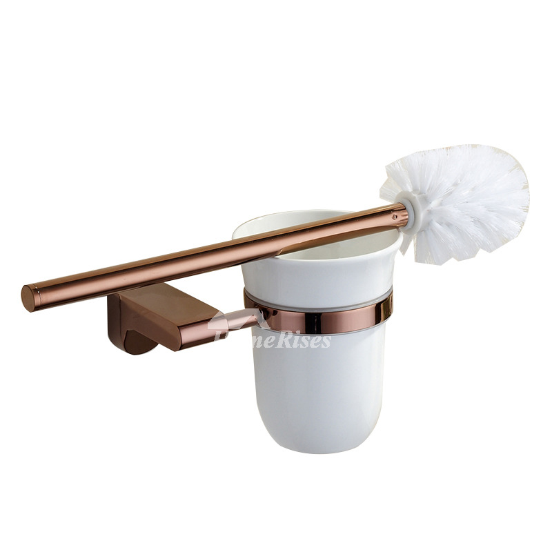 Bathroom Accessories Modern modern rose gold bathroom accessories sets