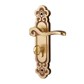 High End Polished Brass Rose Gold | Antique Bronze Bedroom Door Lock