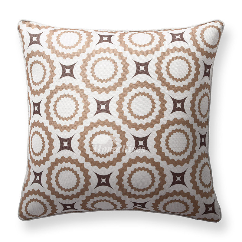 Couch Square Grey And White Modern Throw Pillows (Pillow Core Not Included)