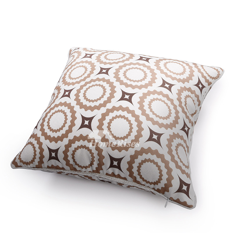 Modern Accent Pillows For Sofa : Couch Square Grey And White Modern Throw Pillows