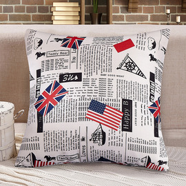 Unique Grey And White Monogrammed Couch Square Throw Pillows