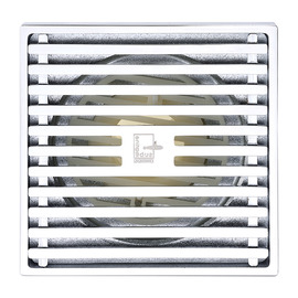 Qst-40 Deodorant Chrome Silver Brass Square Shower Floor Drain