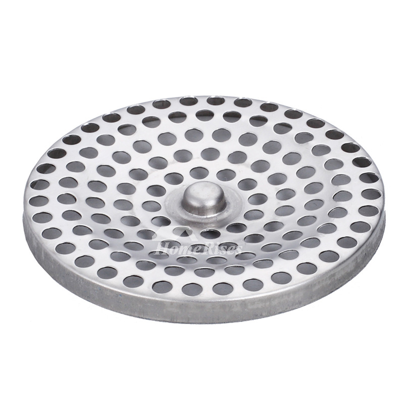 Ke 50 Modern Brushed Stainless Steel Square Shower Floor Drain