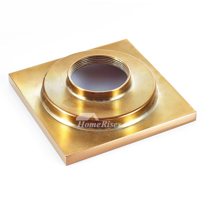 Cb 50 3 Color Deep Water Fine Brass Square Shower Drain